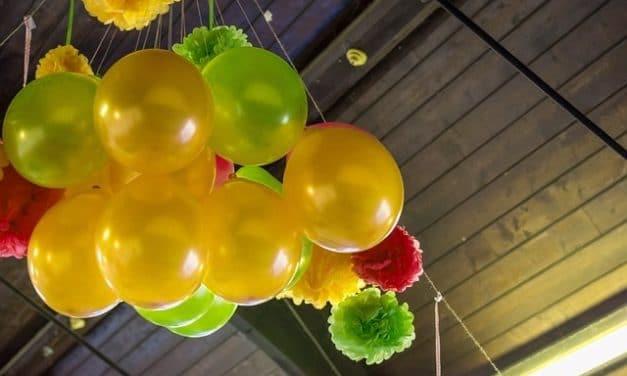 La mejor decoración con globos para tu fiesta